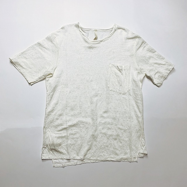 ◯≪New Arrival≫[送料無料]FORME D' EXPRESSION/RELAXED SKEWED T SHIRT [32-191-0004]