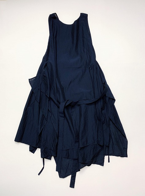 【SALE 30%OFF】FORME D' EXPRESSION/LAYERED APRON DRESS [34-191-0010]