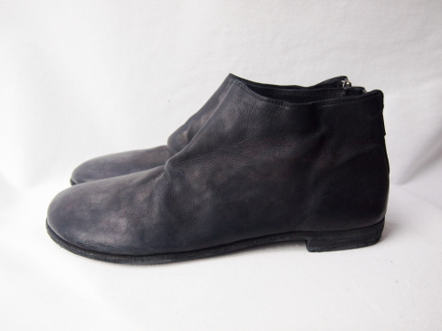 GUIDI/グイディ/ZO04S/BLAKE ANKLE SHOES/バックジップシューズ. [25-181-0002]
