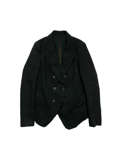 ≪New Arrival≫FORME D' EXPRESSION/REW-EDGED SHORT DB JACKET [31-211-0001]