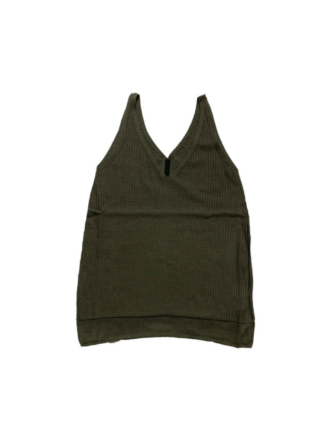【SALE 30%OFF】≪New Arrival≫FORME D' EXPRESSION/FINE RIBBED CAMISOLE [36-211-0001]