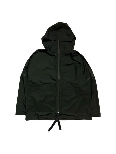 ≪New Arrival≫BARBARA ALAN/RECYCLED NYLON ZIPPED HOODY [44-211-0002]