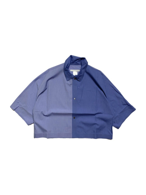 ≪New Arrival≫BARBARA ALAN/FIL A FIL COTTON WIDE CROP SHIRTS [41-211-0004]