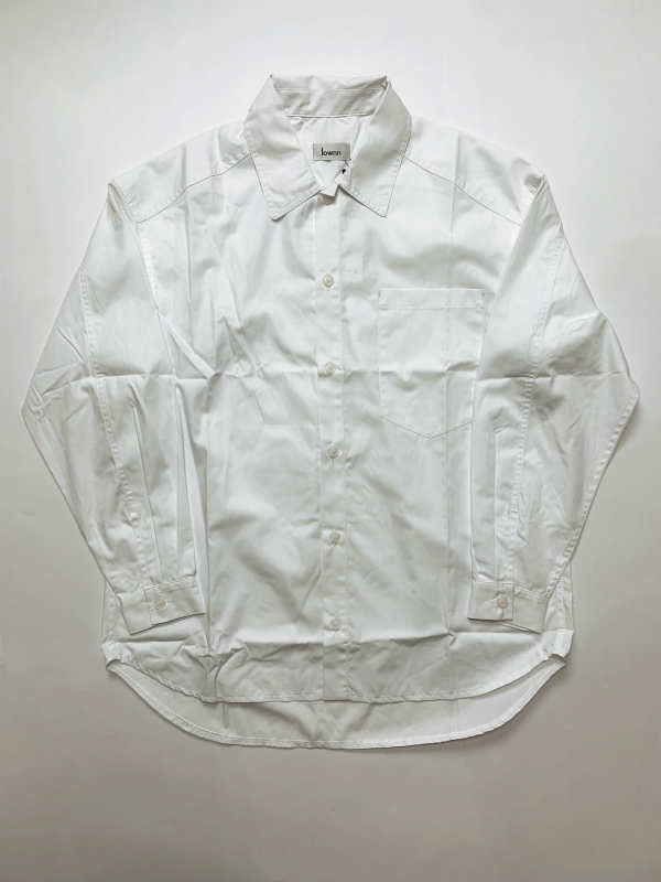 ≪New Arrival≫[送料無料]Lownn/OVER SIZED SHIRTS [21-192-0004]