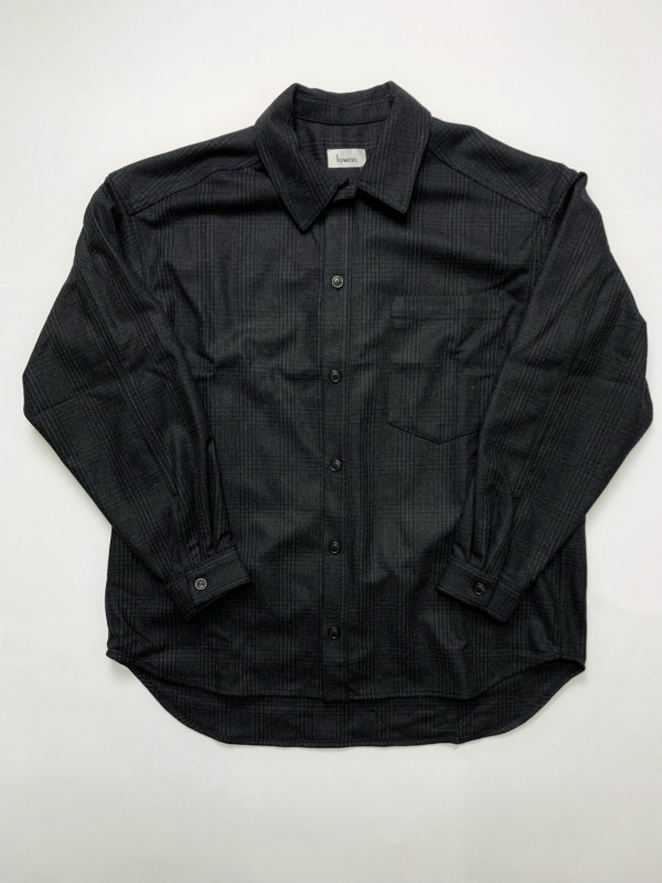 ≪New Arrival≫[送料無料]Lownn/OVER SIZED SHIRTS [21-192-0003]