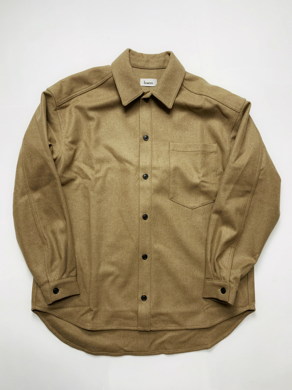 ≪New Arrival≫[送料無料]Lownn/OVER SIZED SHIRTS [21-192-0002]