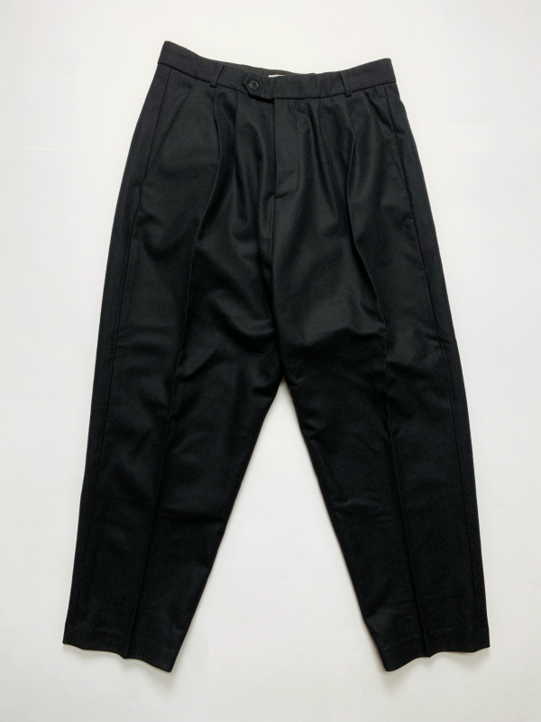 ☆≪New Arrival≫[送料無料]Lownn/W PLEATED WIDE TROUSERS [23-192-0003]