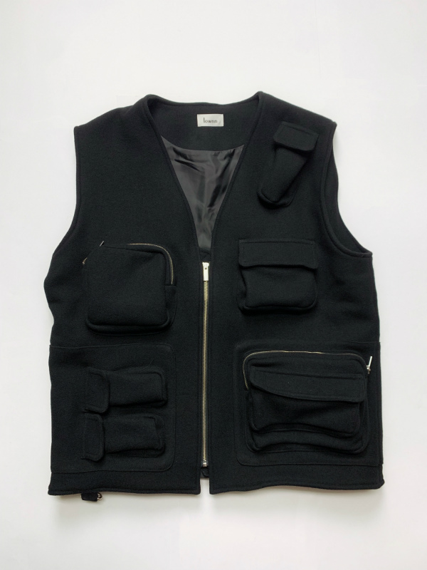 【SALE/セール/30%OFF】≪New Arrival≫[送料無料]Lownn/UTILITY VEST [24-192-0002]
