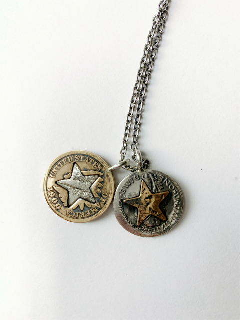 [送料無料]NORTHWORKS/ノースワークス/ONE CENT Necklace.[N620]