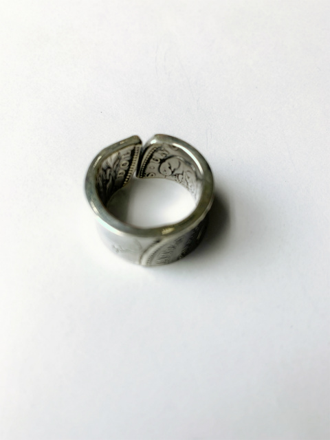 NORTHWORKS/ノースワークス/MORGAN DOLLAR PATCHWORK RING. [N501]