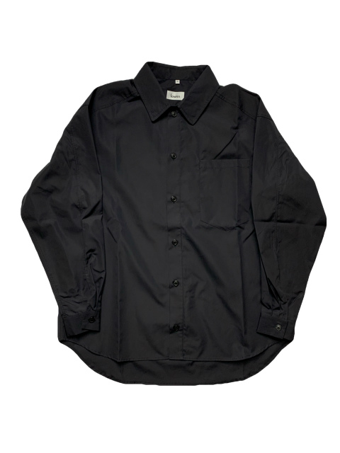 【SALE 30%OFF】Lownn/LONG SLEEVE POPLINE SHIRTS [21-201-0007]