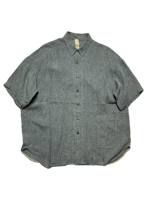 ≪New Arrival≫[送料無料]FORME D' EXPRESSION/ROUND SHIRT 1/2 SLEEVED [21-201-0004]