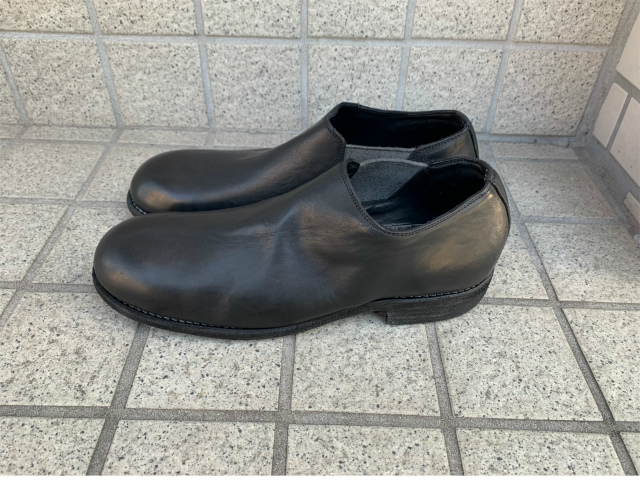 GUIDI/グイディ/990EX/SLIP ON SHORT SIDE GOA [25-201-0002]
