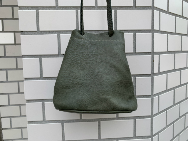 ≪New Arrival≫GUIDI/グイディ/BK1/SOFT HORSE FULL GRAIN NYLON LINING SMALL BUCKET BAG [48-202-0001]