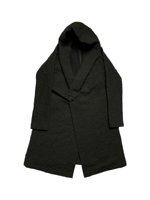 【SALE 30%OFF】FORME D' EXPRESSION/HOODED ROBE COAT [44-202-0001]