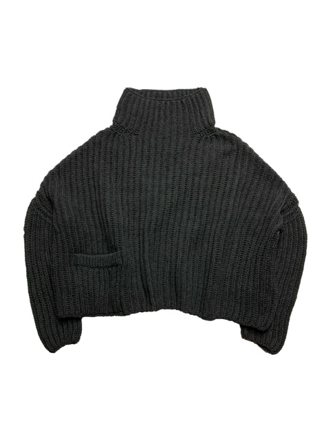 ≪New Arrival≫FORME D' EXPRESSION/ENGLISH RIB PULLOVER [36-202-0001]