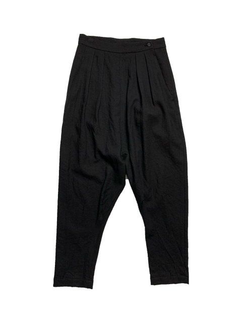 ≪New Arrival≫FORME D' EXPRESSION/SLOUCHY 2 TUCKED PANTS  [33-202-0001]