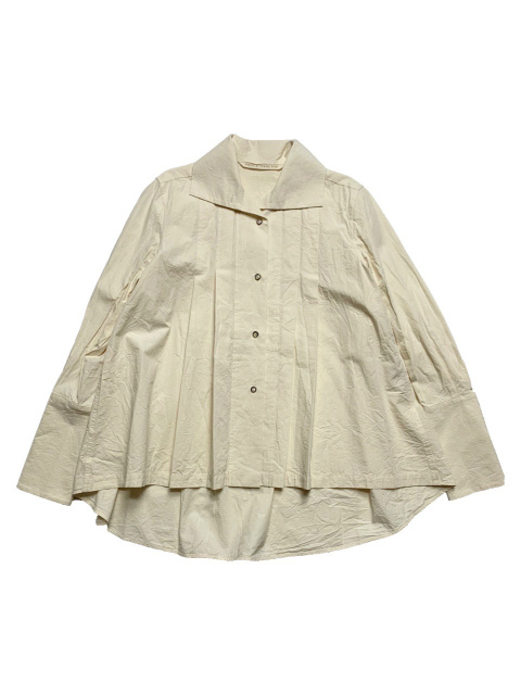≪New Arrival≫FORME D' EXPRESSION/HIGH COLLARED BLOUSE  [31-202-0001]