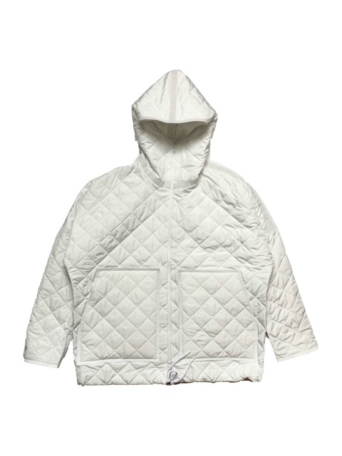 ≪New Arrival≫BARBARA ALAN/RECYCLED QUILTED NYLON HOODEY [44-202-0005]