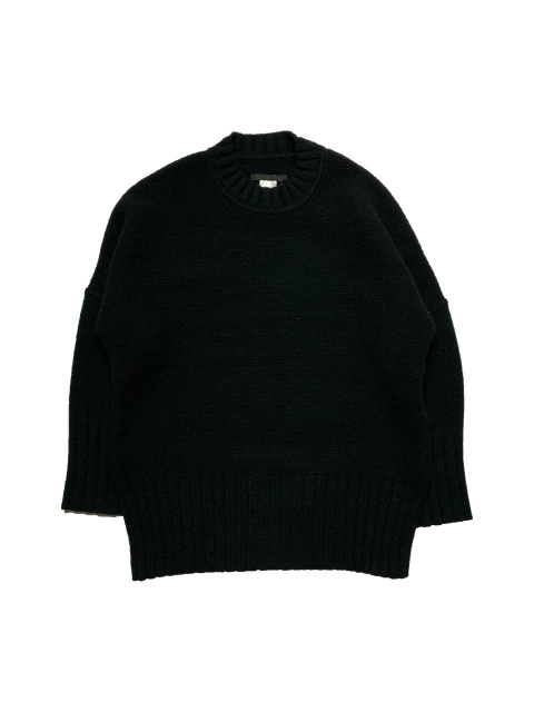 ≪New Arrival≫BARBARA ALAN/KNITTED LAMBSWOOL JUMPER [46-202-0001]