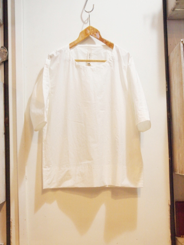 ●[セール/SALE/30%OFF][送料無料]シンヤ コズカ/SHINYA KOZUKA/MID LENGTH SLEEVE SHIRTS. [1601SK03][31-161-0004]