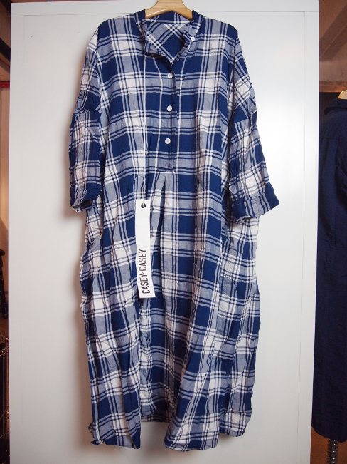 ≪New Arrival≫[送料無料]CASEY CASEY/ROBE SURF. [10FR189 CHECK][34-181-0002]