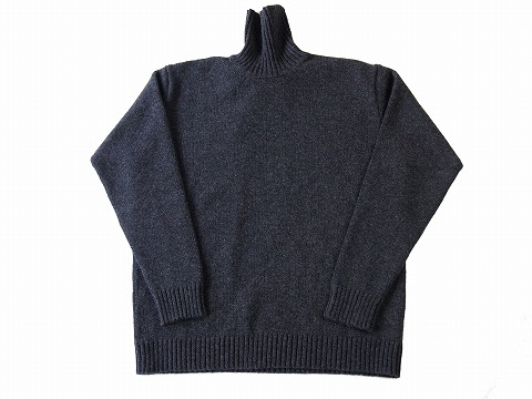 【OUTLET SALE60%OFF】COUNTRY OF ORIGIN/カントリーオブオリジン/PLAIN TURTLE NECK[26-182-0002]