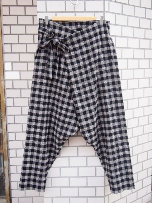 ≪SALE/セール/30%OFF≫[送料無料]FORME D' EXPRESSION/WRAP PANTS.  [33-162-0002]