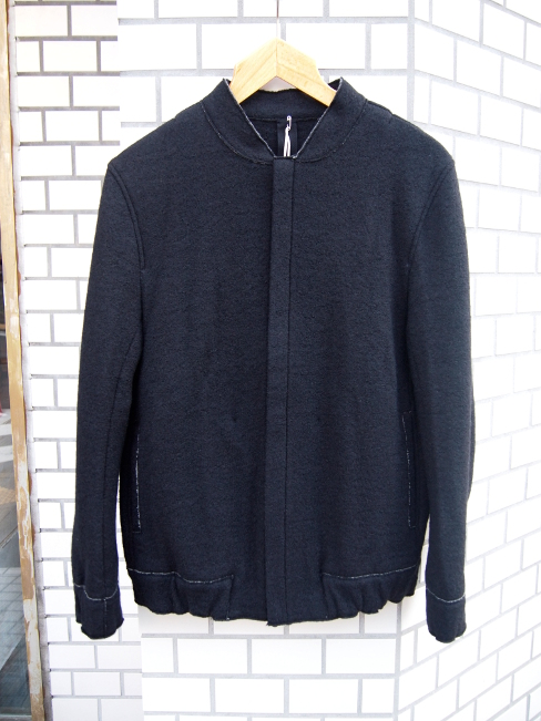 ≪SALE/セール/30%OFF≫[送料無料]FORME D' EXPRESSION/BOILED KNIT BLOUSON JACKET.  [37-162-0003]