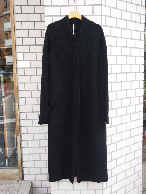【SALE/セール/30%OFF】[送料無料]FORME D' EXPRESSION/BISHOP LONG KNIT COAT.  [44-162-0020]