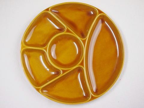 GIEN FRANCE fondue plate