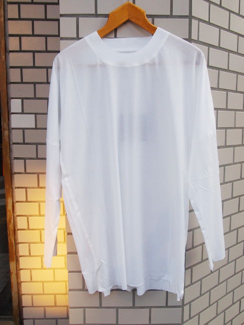 【SALE 30%OFF】BARBARA ALAN/TOP LONG SLEEVE TEE. [32-162-0004]