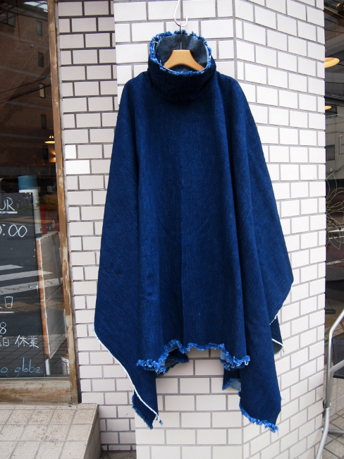 【OUTLET SALE60%OFF】[送料無料]ASHLEY ROWE/アシュレイ・ロウ/SHORT PONCHO. [44-162-0007]
