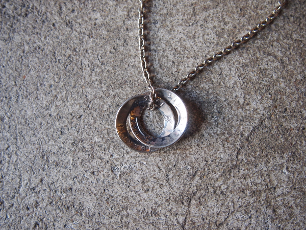 [送料無料]NORTHWORKS/ノースワークス/Washington QUARTER DOLLAR EDGE NECKLACE.[G03]