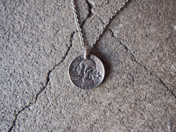 [送料無料]NORTHWORKS/ノースワークス/Washington QUARTER DOLLAR NECKLACE.[G04]
