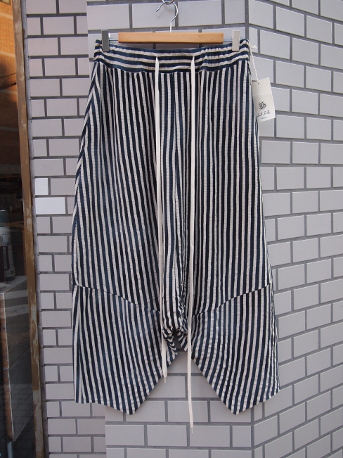 ★≪New Arrival≫[送料無料]SANGUE SACRO SULLE ROSE/TROUSERS STRIPE. [33-171-0005]