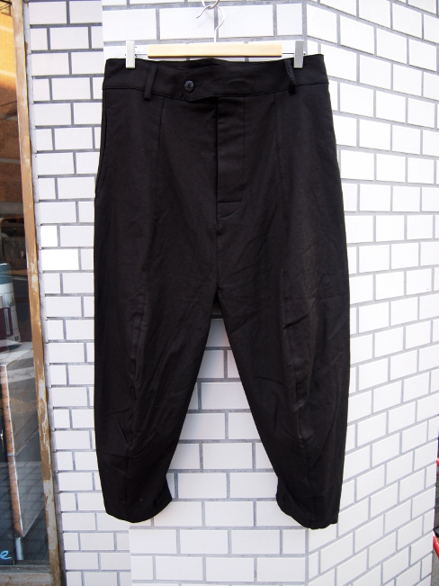 【SALE/セール/30%OFF】[送料無料]SANGUE SACRO SULLE ROSE/TROUSERS VEG BLACK. [33-171-0003]