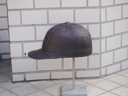 Anthony Peto/STRAW BASEBALL CAP. [58-171-0003]