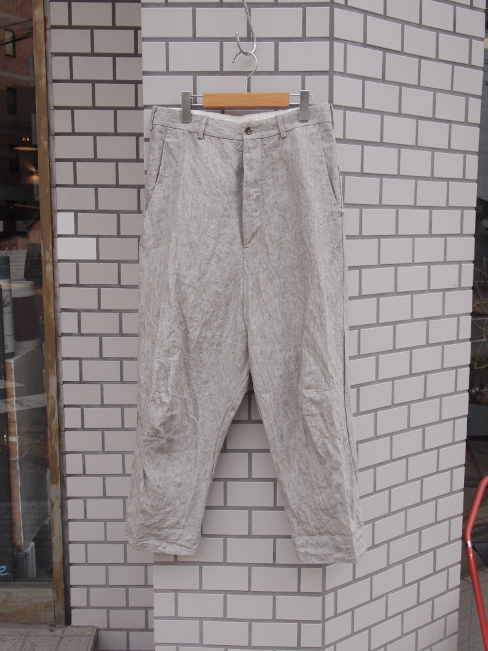 [セール/SALE/30%OFF][送料無料]FORME D' EXPRESSION/TAILORED BAGGY PANTS.  [43-171-0005]