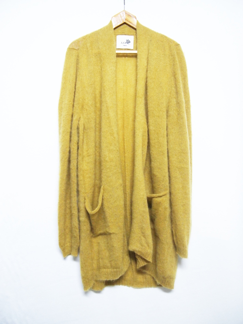 ★≪New Arrival≫[送料無料]SANGUE SACRO SULLE ROSE/KNIT LONG CARDIGAN. [26-172-0001]