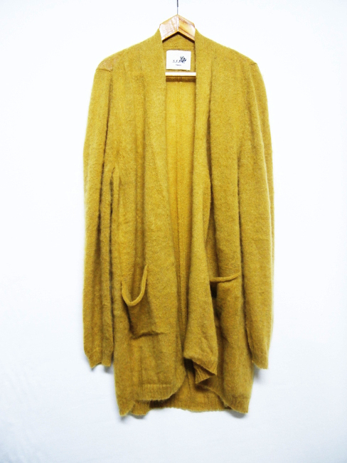 【SALE/セール30%OFF】[送料無料]SANGUE SACRO SULLE ROSE/KNIT LONG CARDIGAN. [26-172-0001]