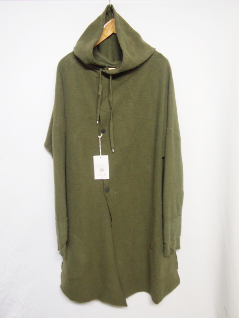 【SALE/セール/30%OFF】[送料無料]SANGUE SACRO SULLE ROSE/HOODED JERSEY COAT. [22-172-0002]