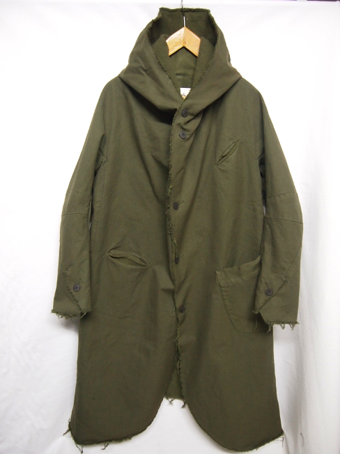 ≪New Arrival≫[送料無料]SANGUE SACRO SULLE ROSE/HOODED COAT. [24-172-0001]