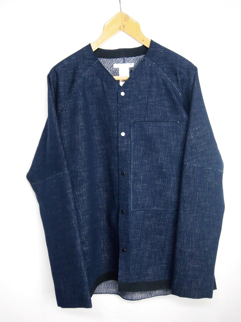 ★≪New Arrival≫[送料無料]BARBARA ALAN/DENIM VEE JACKET. [JKT 5210 TD001][47-172-0002]