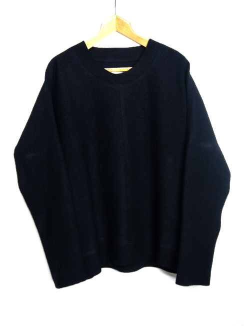 【SALE/セール/30%OFF】[送料無料]BARBARA ALAN/FELTED CREW SWEATER. [TOP 5244 TJ021][46-172-0001]