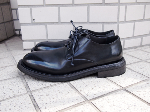 Marsell/マルセル/Round Toe Derby Shoes.[MM2525] [25-172-0001]