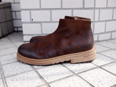 ≪New Arrival≫[送料無料]Marsell/マルセル/Zip Boots.[MM2485] [25-172-0002]