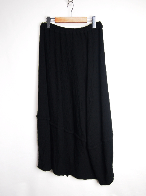 【SALE 40%OFF】FORME D' EXPRESSION/WOOL JERSEY SPHERED SKIRT.  [33-172-0004]