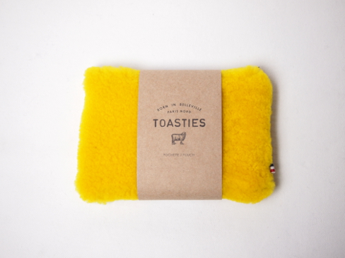 TOASTIES/トースティーズ/POUCH WOOL SMALL. [49-172-0009]