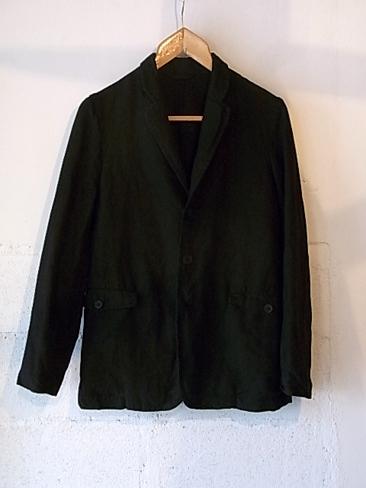 [セール/SALE/30%OFF][送料無料]CASEY CASEY/ケーシーケーシー/Black Linen Jacket[04HV65] [37-151-0007]